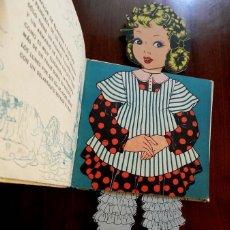 Libros antiguos: LA PRINCESA BELLAFLOR, LIBRO MUÑECO, ILUSTRACIONES DE PILI BLASCO, NARRACION DE JOSE MALLORQUI FIG. Lote 176618124