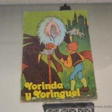 Libros antiguos: CUENTO TROQUELADO YORINDA Y YORINGUEL CUENTOS TROQUELADOS EDICIONES ALONSO. Lote 50813540