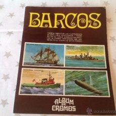 Libri antichi: ÁLBUM DE CROMOS , BARCOS. Lote 51017459
