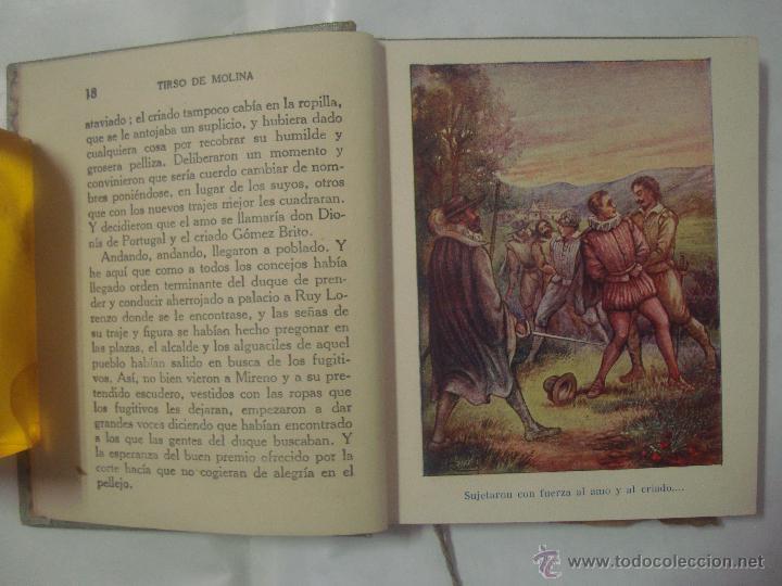 Libros antiguos: HISTORIAS DE TIRSO DE MOLINA. COLECCIÓN ARALUCE 1914. OBRA ILUSTRADA - Foto 2 - 51080285