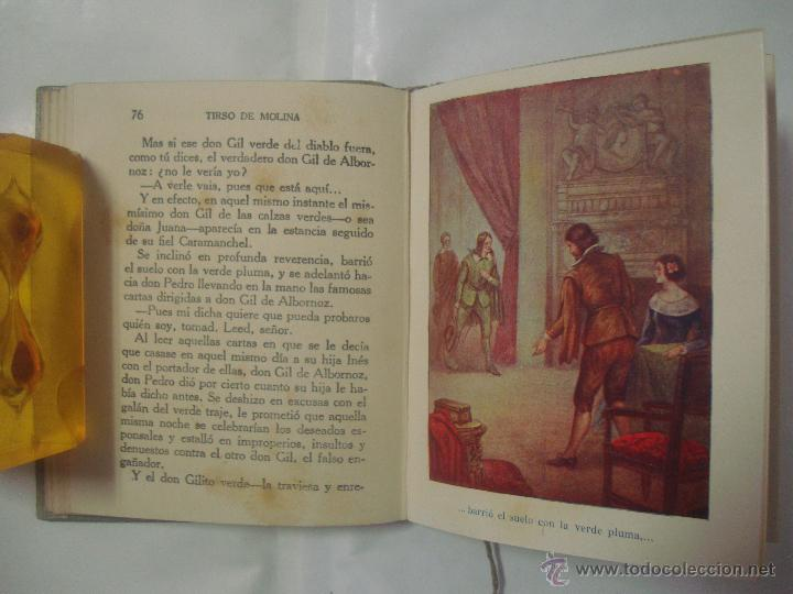 Libros antiguos: HISTORIAS DE TIRSO DE MOLINA. COLECCIÓN ARALUCE 1914. OBRA ILUSTRADA - Foto 3 - 51080285