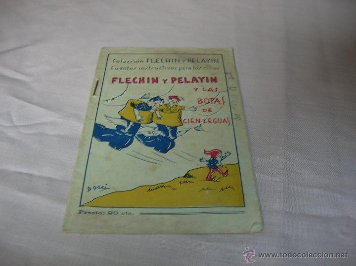 CUENTO FLECHÍN Y PELAYÍN Y LAS BOTAS DE CIEN-LEGUAS (Libros Antiguos, Raros y Curiosos - Literatura Infantil y Juvenil - Cuentos)