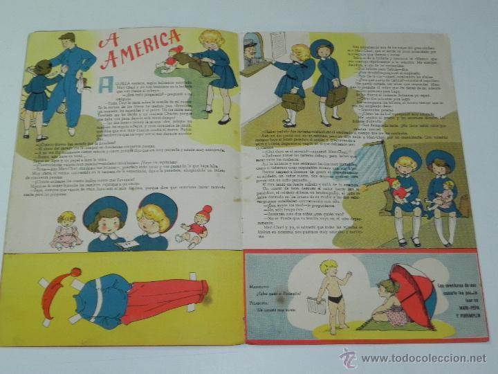 Libros antiguos: ANTIGUO CUENTO DE MARI PEPA NAVEGANTE - ILUSTRACIONES MARIA CLARET - TEXTO EMILIA COTARELO - COMPLET - Foto 2 - 51351586