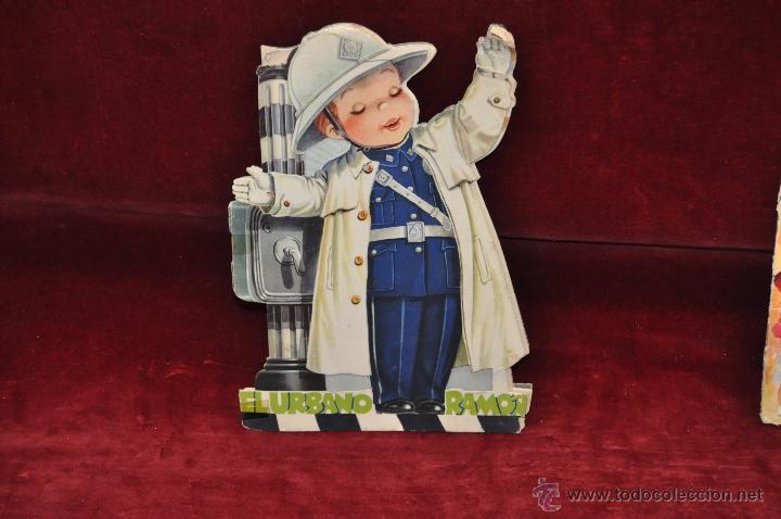 CUENTO TROQUELADO DE FERRÁNDIZ. EL URBANO RAMÓN. EDITORIAL VILCAR (Libros Antiguos, Raros y Curiosos - Literatura Infantil y Juvenil - Cuentos)