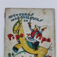 Libros antiguos: RV-43 AVENTURAS MARAVILLAS DE PIPO Y PIPA EN PODER DEL BRUJO. EDITORIAL ESTAMPA. Lote 51359538