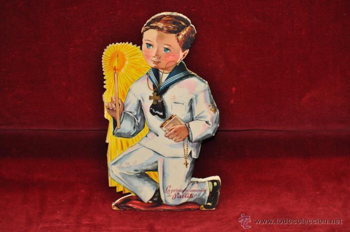 LA PRIMERA COMUNION DE PABLITO. TROQUELADOS DURVE (Libros Antiguos, Raros y Curiosos - Literatura Infantil y Juvenil - Cuentos)