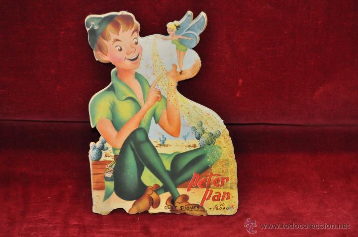 CUENTO TROQUELADO PETER PAN Y EL TESORO. WALT DISNEY (Libros Antiguos, Raros y Curiosos - Literatura Infantil y Juvenil - Cuentos)