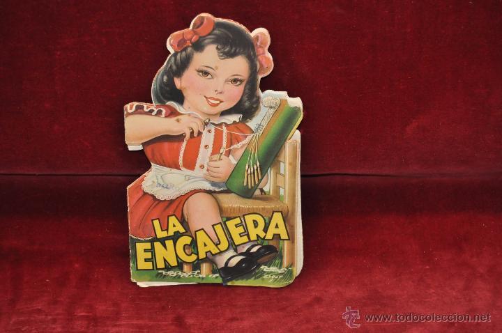 CUENTOS TROQUELADOS LA ENCAJERA. ILUSTRACIONES ZSOLT.COL. IRIS (Libros Antiguos, Raros y Curiosos - Literatura Infantil y Juvenil - Cuentos)