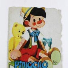 Libros antiguos: L-953 PINOCHO CUENTO TROQUELADO. VILMAR EDICIONES S.A.. Lote 51541870