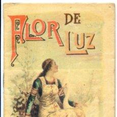 Libros antiguos: FLOR DE LUZ, ED. SATURNINO CALLEJA Nº 105 CUENTOS DE CALLEJA EN COLORES. Lote 51579165