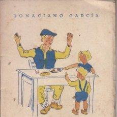 Libros antiguos: DONACIANO GARCÍA: CUENTOS DE SANO HUMOR, CAMPURRIANOS. SANTANDER 1953. PALENCIA. Lote 51624752