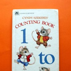 Libros antiguos: CYNDY SZEKERES´ COUNTING BOOK - A GOLDEN STURDY BOOK - . Lote 51667994