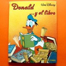 Libros antiguos: DONALD Y EL LIBRO - Nº 2 - CÍRCULO DE LECTORES - WALT DISNEY - . Lote 51669116