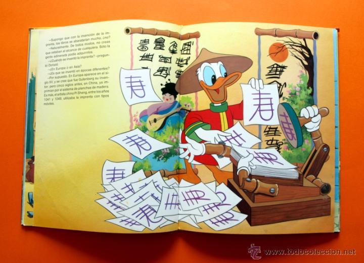 Libros antiguos: DONALD Y EL LIBRO - Nº 2 - CÍRCULO DE LECTORES - WALT DISNEY - - Foto 2 - 51669116