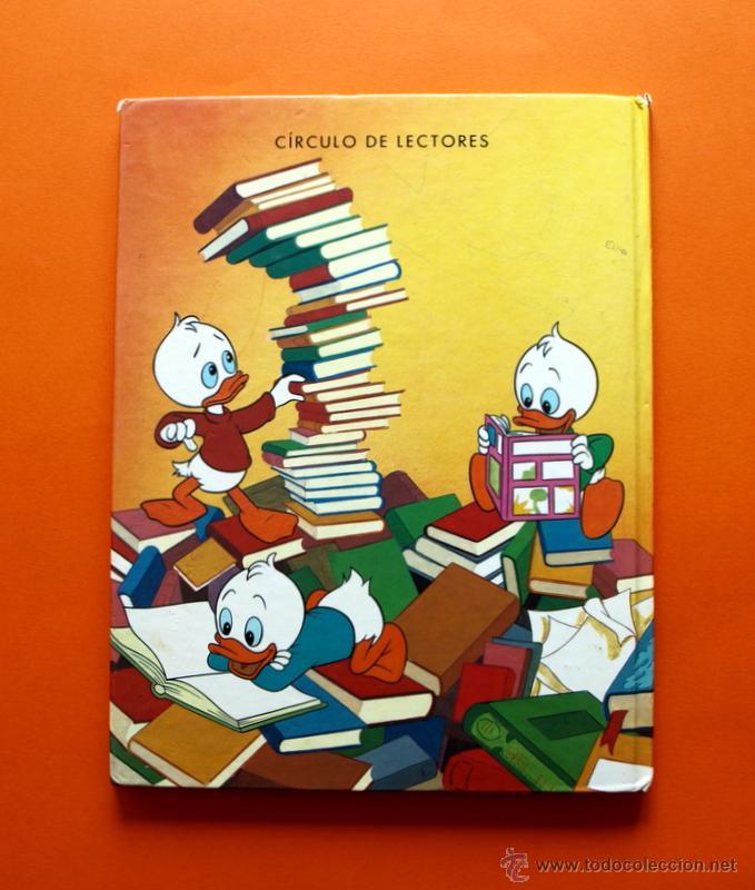 Libros antiguos: DONALD Y EL LIBRO - Nº 2 - CÍRCULO DE LECTORES - WALT DISNEY - - Foto 3 - 51669116