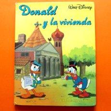 Libros antiguos: DONALD Y LA VIVIENDA - Nº 1 - CÍRCULO DE LECTORES - WALT DISNEY - . Lote 51669210