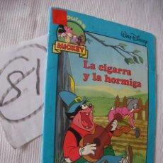 Libros antiguos: ANTIGUO CUENTO INFANTIL - LA CIGARRA Y LA HORMIGA - ENVIO GRATIS A ESPAÑA. Lote 52006882