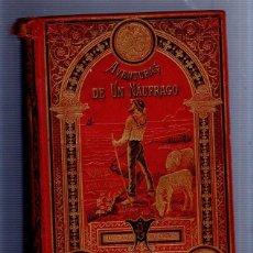 Libros antiguos: AVENTURAS DE UN NAUFRAGO. CUENTOS MORALES. ANGEL Y MENDEZ BRINGA. CALLEJA. MADRID. LEER. Lote 52131627
