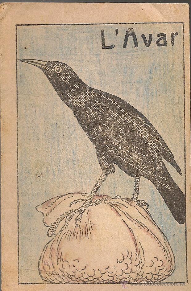L'AVAR / M. FOLCH I TORRES. COL. EN PATUFET ,239. 12X8CM. 15 P (Libros Antiguos, Raros y Curiosos - Literatura Infantil y Juvenil - Cuentos)