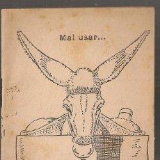 Libros antiguos: AEIOU / M. MARINEL.LO. COL. EN PATUFET ,238. 12X8CM. 15 P. Lote 52309931