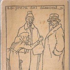 Libros antiguos: LA PRESA DEL DIMONI / M FOLCH I TORRES. COL. EN PATUFET, 348 12X8CM. 15 P.. Lote 52312305