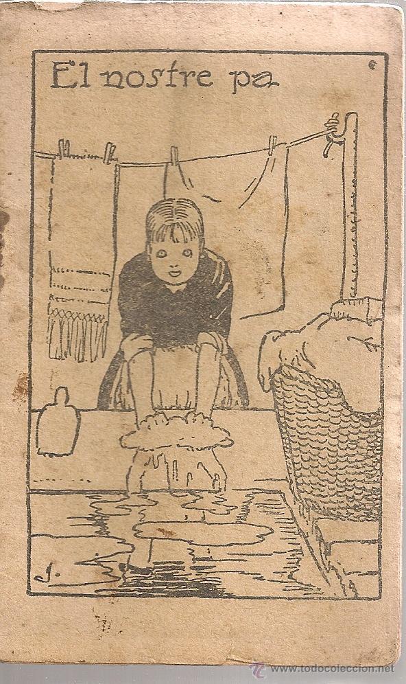 EL NOSTRE PA / J.M FOLCH I TORRES. COL. EN PATUFET, 317. 12X8CM. 15 P. (Libros Antiguos, Raros y Curiosos - Literatura Infantil y Juvenil - Cuentos)