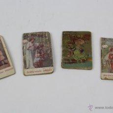Libros antiguos: P-9369. LOTE DE 4 CUENTOS MINIATURA. DEBRAY Y CALLEJA.. Lote 52504973