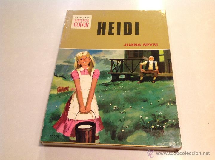HEIDI (Libros Antiguos, Raros y Curiosos - Literatura Infantil y Juvenil - Cuentos)