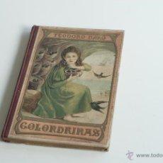 Libros antiguos: GOLONDRINAS - TEODORO BARÓ 1908. Lote 52553444