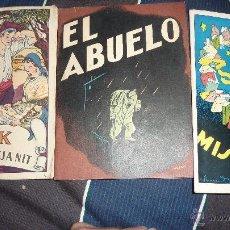 Libros antiguos: 3 CUENTO CAIXA PENSIONS ASSEMBLEA MISTERIOSA , NICK CONTE DE MITJA NIT , EL ABUELO 1935 - 1931. Lote 52588571