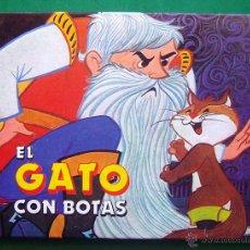 Libros antiguos: EL GATO CON BOTAS . CUENTO TAPA DUTA . 24 X 18. Lote 52701890