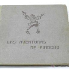 Libros antiguos: LAS AVENTURAS DE PINOCHO. COLLODI. EDITORIAL JUVENTUD. 1º EDICIÓN, 1941. ILUSTRADO CON MUCHOS DIBUJO. Lote 52706484