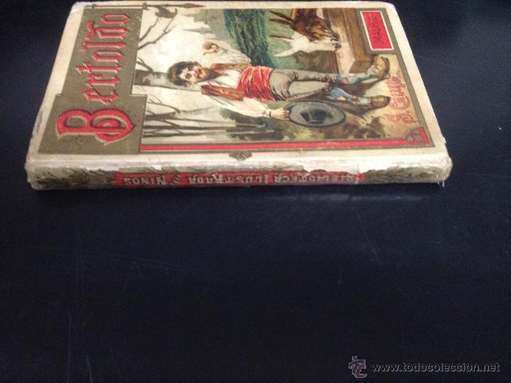 Libros antiguos: ANTIGUO LIBRO CUENTO BERTOLDO EDITADO POR SATURNINO CALLEJA - Foto 2 - 52942010