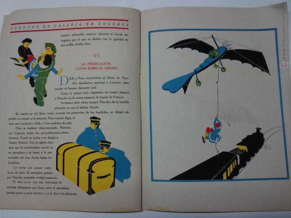 Libros antiguos: pinocho . cuento Calleja - Foto 2 - 53105756