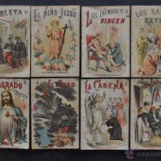 Libros antiguos: LOTE DE 8 CUENTOS CON CENSURA ECLESIASTICA. PONS Y C.ª EDITORES CATOLICOS. Lote 53134742