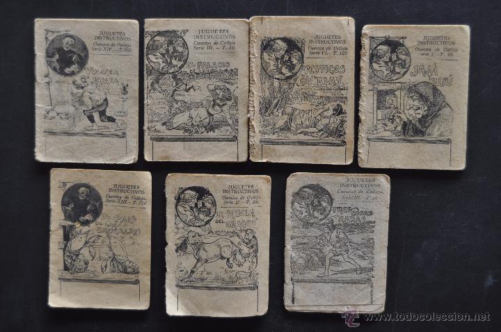 LOTE DE 7 PEQUEÑOS CUENTOS. EDITOR S. CALLEJA (Libros Antiguos, Raros y Curiosos - Literatura Infantil y Juvenil - Cuentos)