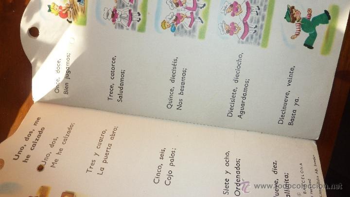 Libros antiguos: Precioso antiguo cuento libro de versos para contar telefono Lito SA printed Helsingborgs sweden - Foto 2 - 53512601
