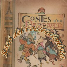Libros antiguos: CONTES D'EN PERRAULT, EDITORIAL JOVENTUD, BIBLIOTECA JOVENTUD N. 1, 1907. Lote 53531266
