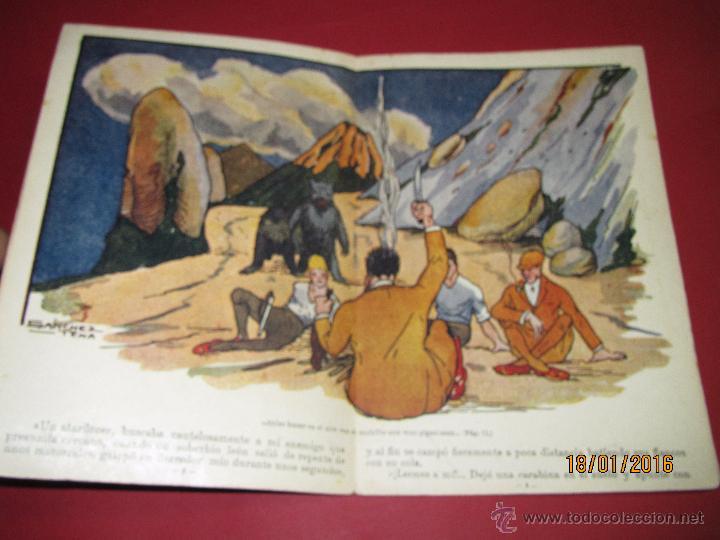 Libros antiguos: Cuento Aventuras de Machucho y Pilongo *MACHUCHO Y PILONGO CAZADORES* Nº 8 Ramón SOPENA 1920s. - Foto 4 - 53897038