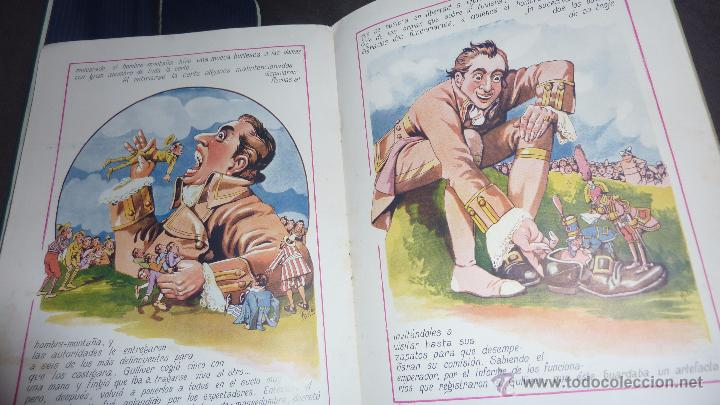 Libros antiguos: gulliver en el pais de los enanos . IX cuentos en colores ed sopena . dibujos asha - Foto 4 - 54016866