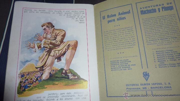 Libros antiguos: gulliver en el pais de los enanos . IX cuentos en colores ed sopena . dibujos asha - Foto 5 - 54016866