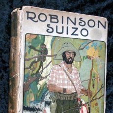 Libros antiguos: ROBINSON SUIZO - CALLEJA - PENAGOS - 1920. Lote 79628897