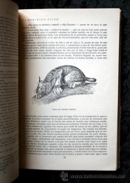Libros antiguos: ROBINSON SUIZO - CALLEJA - Penagos - 1920 - Foto 5 - 79628897