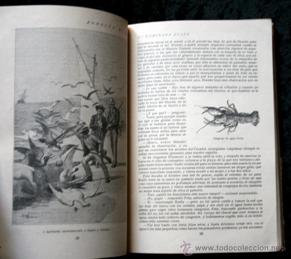 Libros antiguos: ROBINSON SUIZO - CALLEJA - Penagos - 1920 - Foto 6 - 79628897