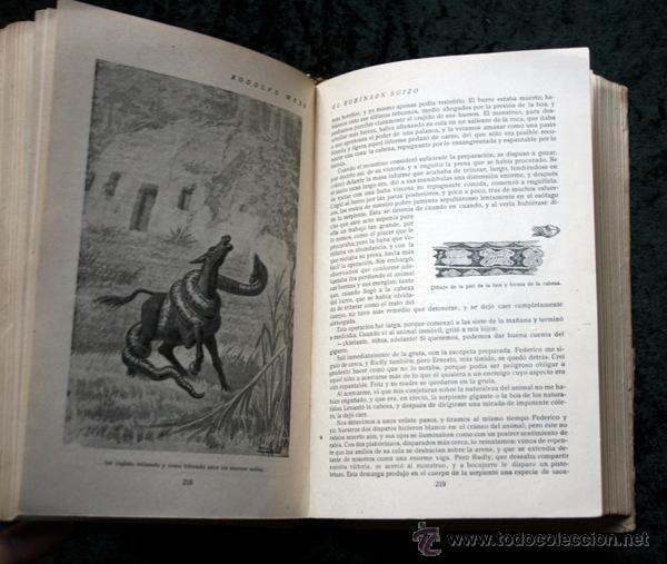 Libros antiguos: ROBINSON SUIZO - CALLEJA - Penagos - 1920 - Foto 7 - 79628897
