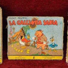 Libros antiguos: LOTE DE 3 CUENTOS DE LA EDITORIAL MOLINO (WALT DISNEY). Lote 54061887