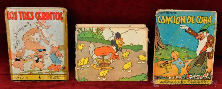 Libros antiguos: LOTE DE 3 CUENTOS DE LA EDITORIAL MOLINO (WALT DISNEY) - Foto 5 - 54061887