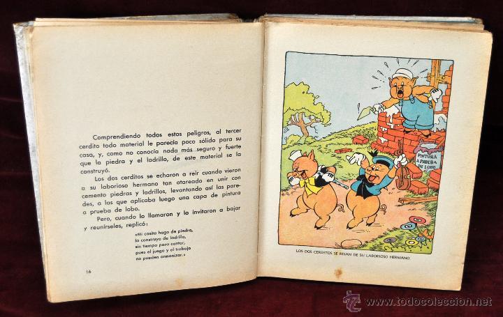 Libros antiguos: LOTE DE 3 CUENTOS DE LA EDITORIAL MOLINO (WALT DISNEY) - Foto 6 - 54061887