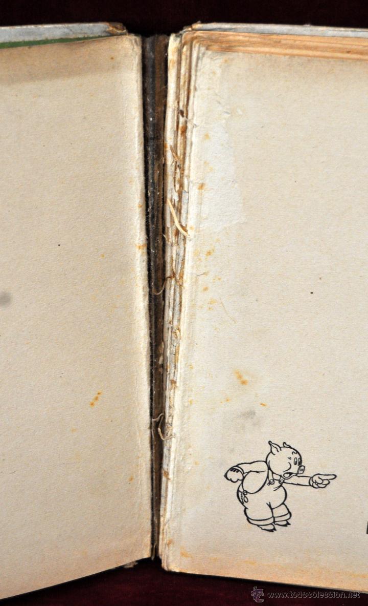 Libros antiguos: LOTE DE 3 CUENTOS DE LA EDITORIAL MOLINO (WALT DISNEY) - Foto 8 - 54061887