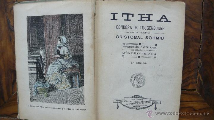 ITHA CONDESA DE TOGGENBOURG. C. SCHMID. SATURNINO CALLEJA. (C. 1910). (Libros Antiguos, Raros y Curiosos - Literatura Infantil y Juvenil - Cuentos)